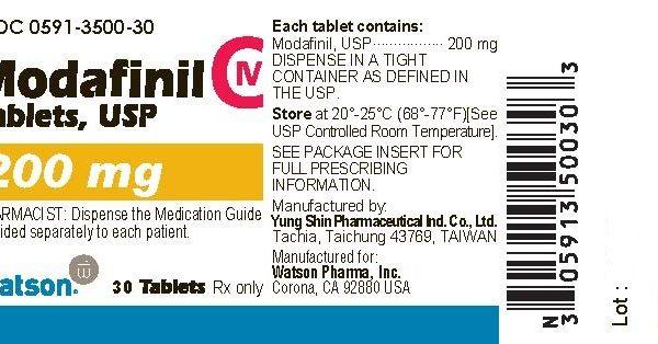 Modafin ( 200mg (30 pills) )