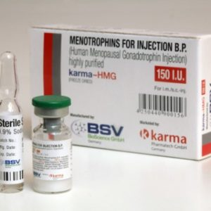 HMG 150IU (Humog 150) ( 1 vial of 150IU )