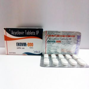 Ekovir ( 800mg (5  pills) )