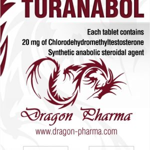 Turanabol ( 100 Tabs (20 mg/tab) )