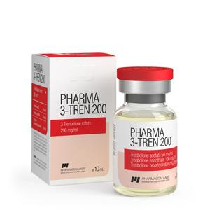 Pharma 3 Tren 200 ( 10ml vial (200mg/ml) )
