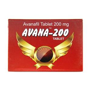 Avana 200 ( 200mg (4 pills) )