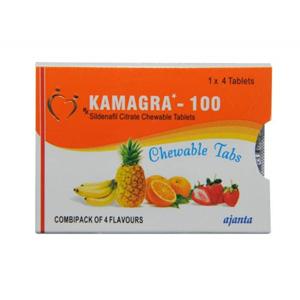 Kamagra Chewable ( 100mg (4 pills) )