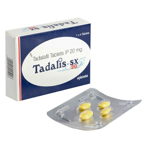Tadalis SX 20 ( 20mg (4 pills) )