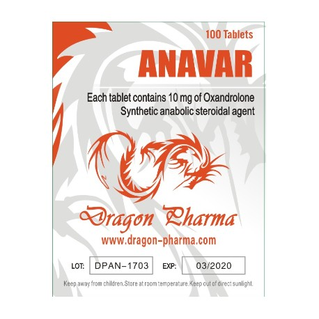 Anavar 10 ( 10mg (100 pills) )